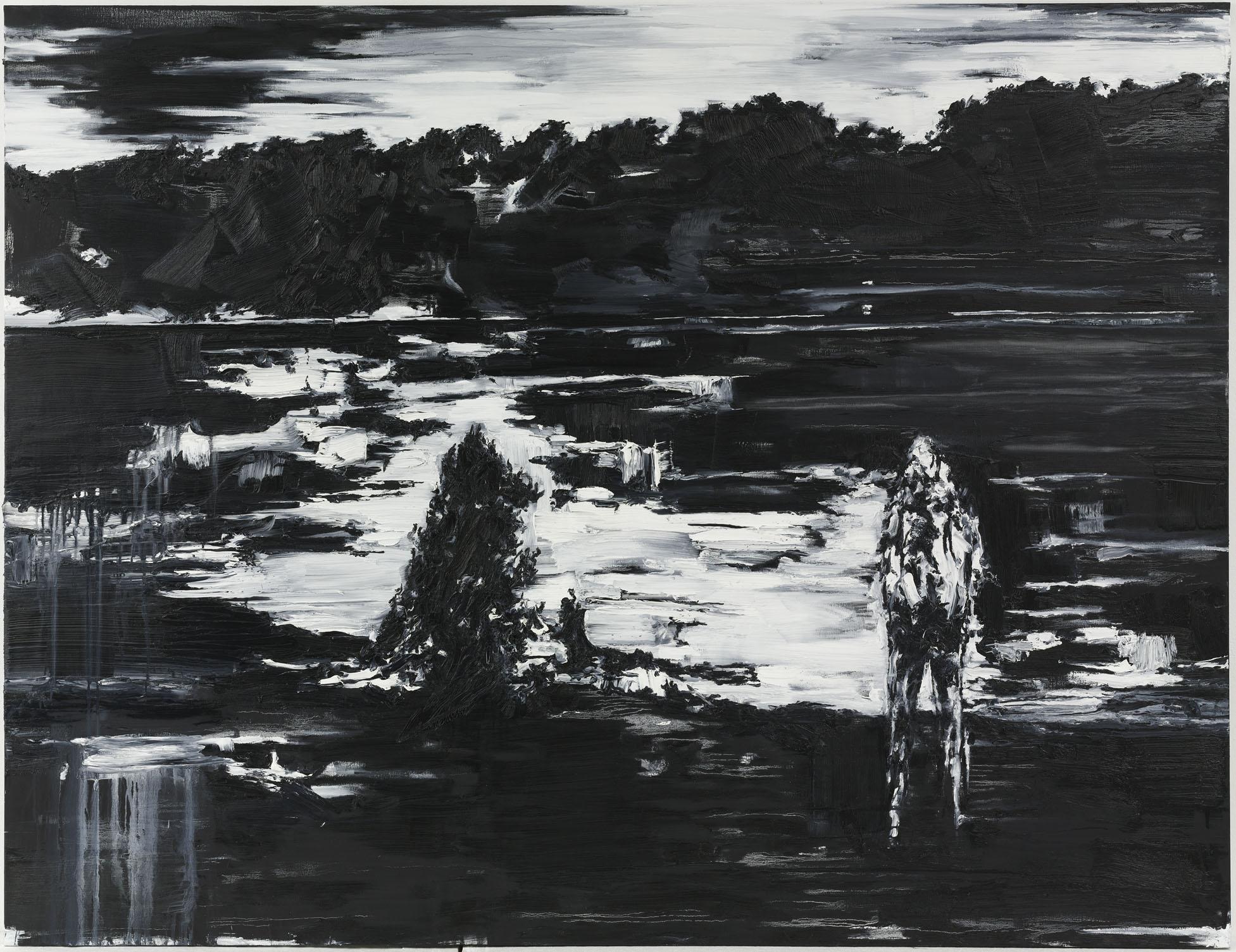 """""""Spiritus Sanctus"""" 200 x 260 cm. oil on linen 2009"""