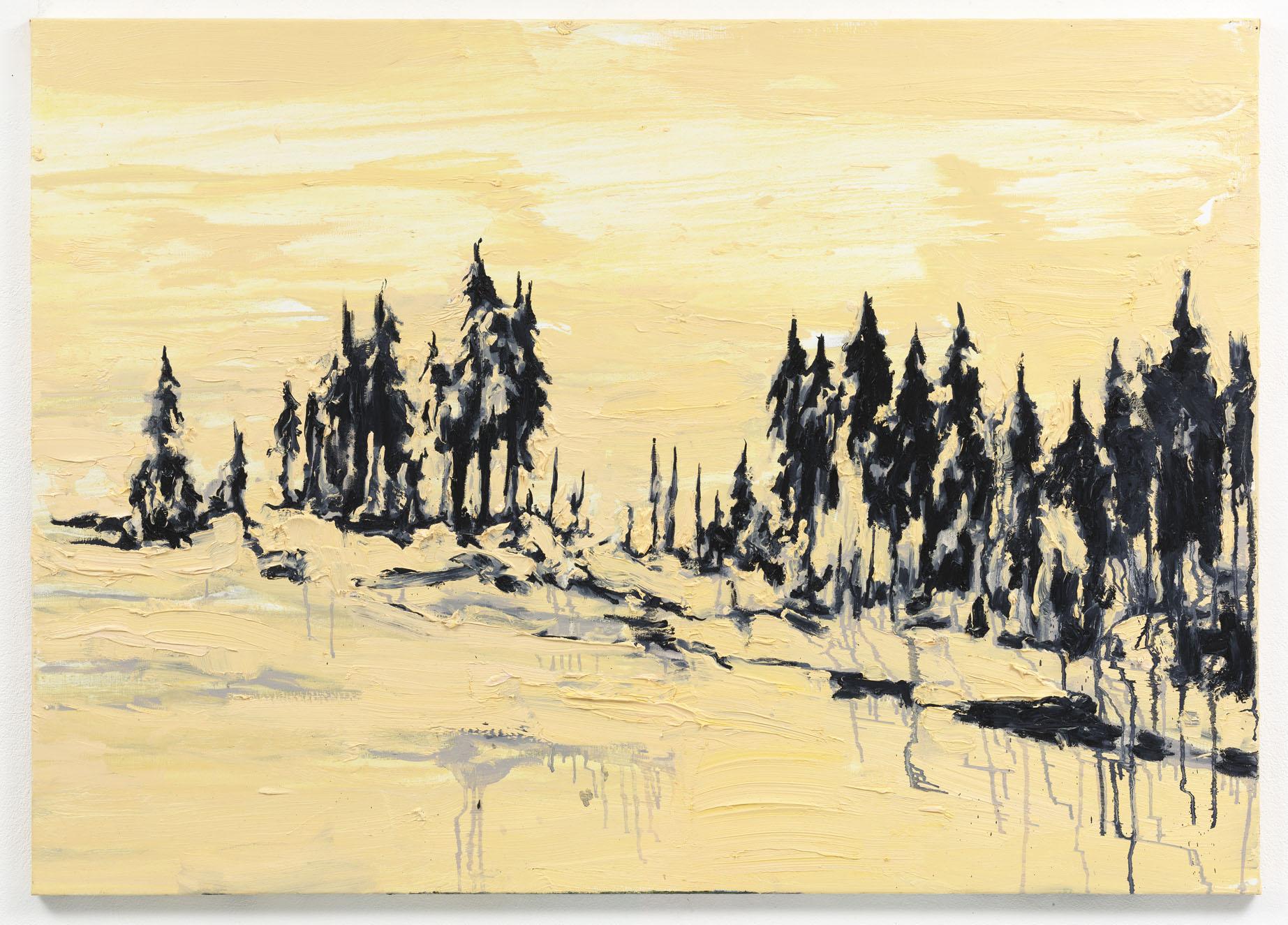 """Perdidas"" 100 x 140 cm. oil on linen 2010"