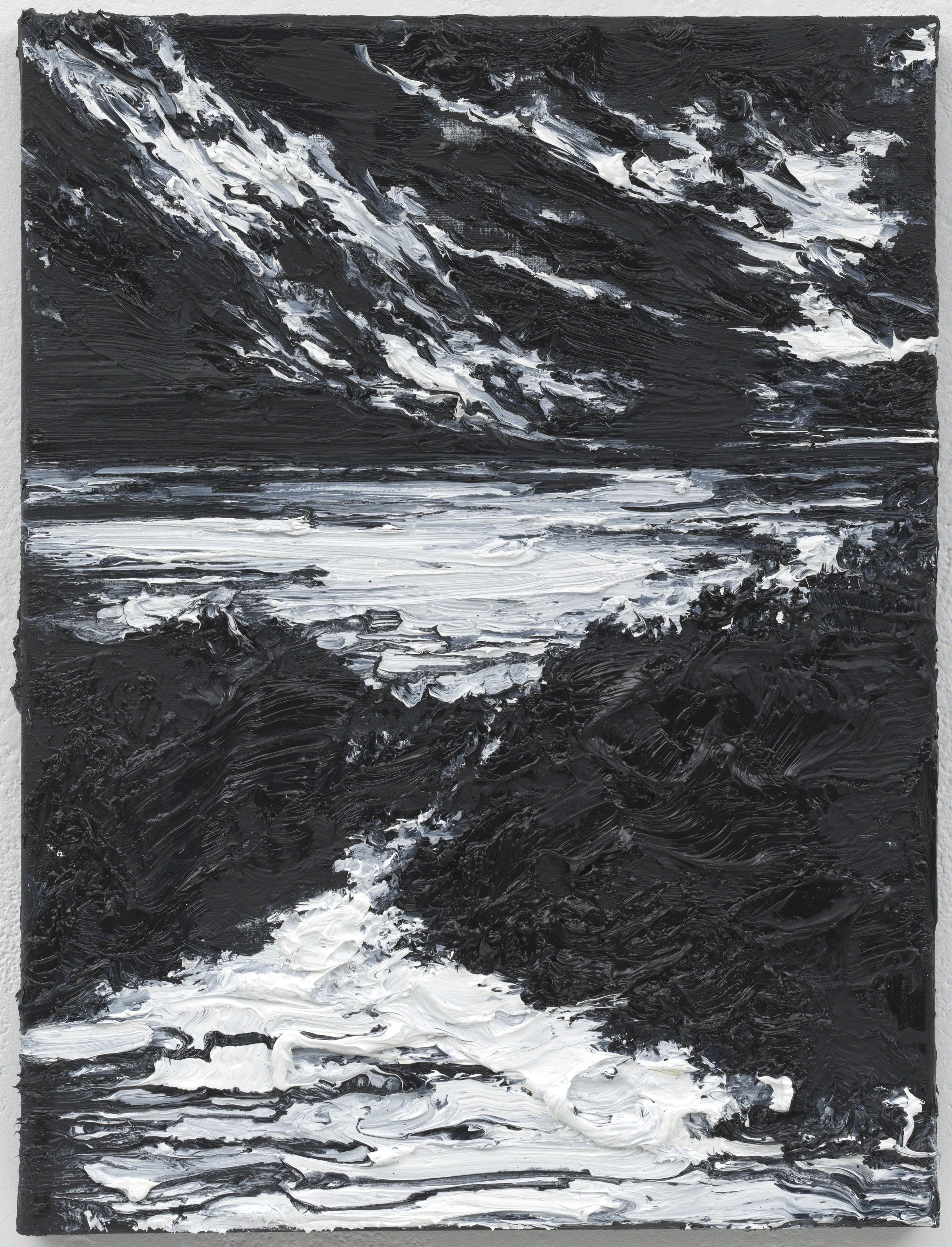 """""""Chegando a casa"""" 40 x 30 cm. oil on linen 2010"""