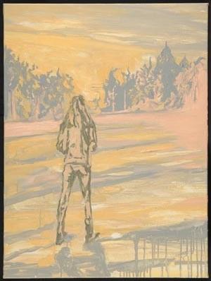 """""""Umbra"""" 90 x 70 cm.oil on linen 2004"""