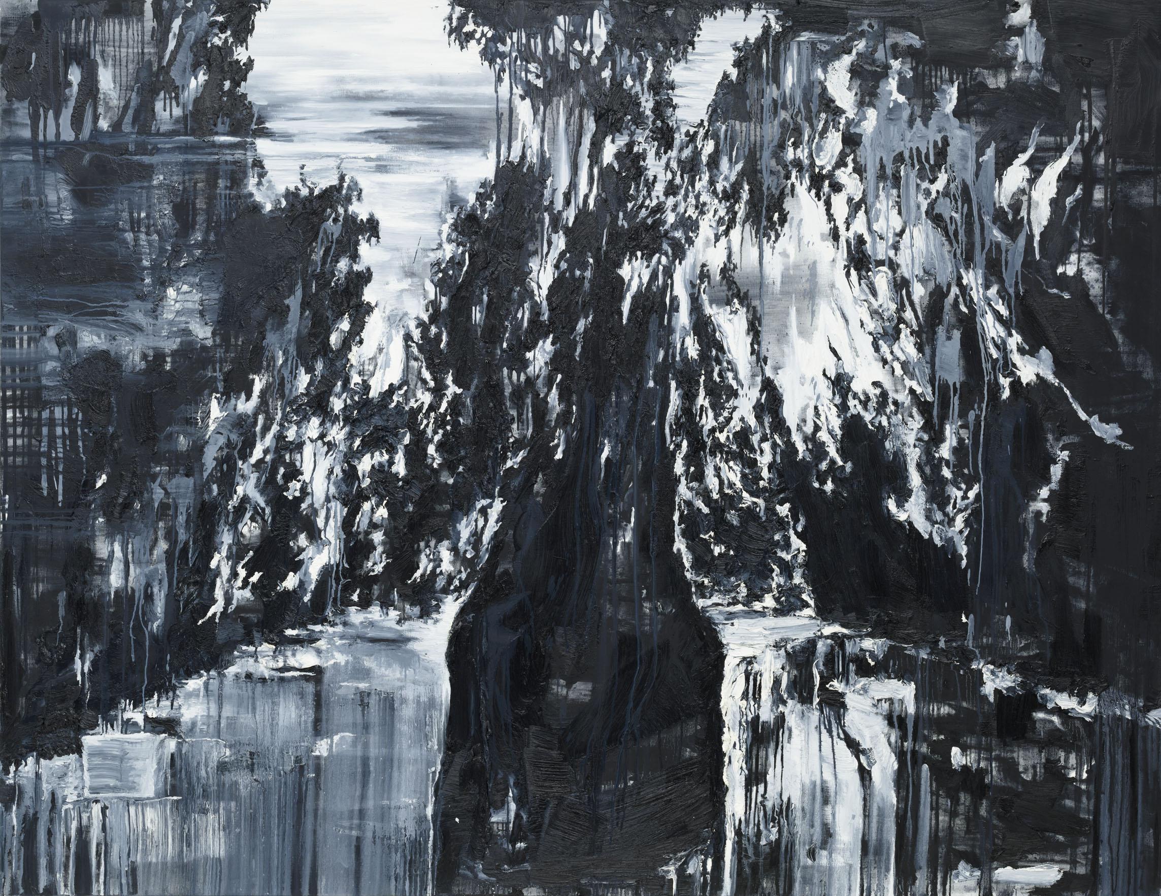 """Sintra"" 200 x 260 cm. oil on linen 2011"