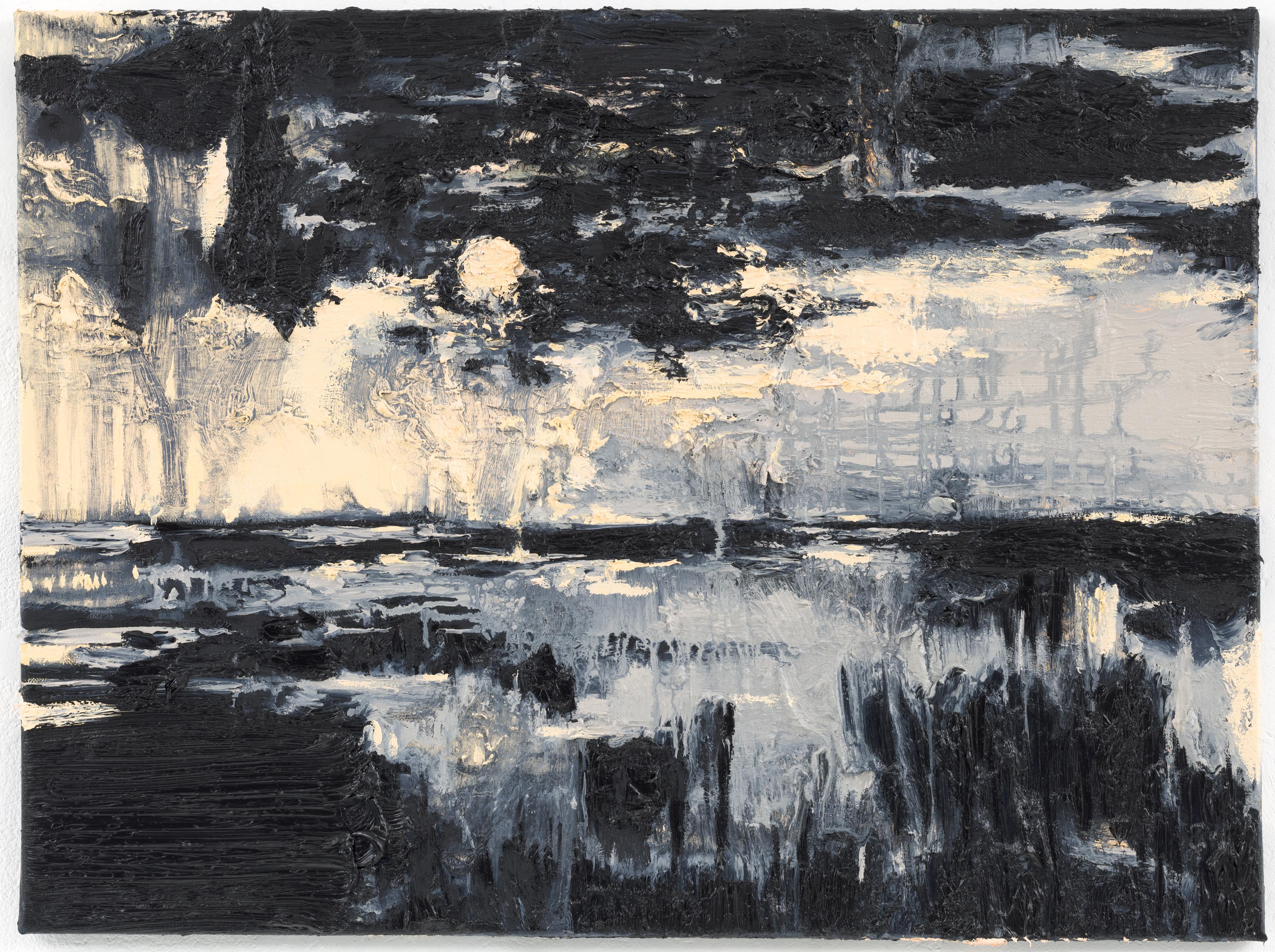 """Luz da Lua I"" 60 x 80 cm. oil on linen 2012"