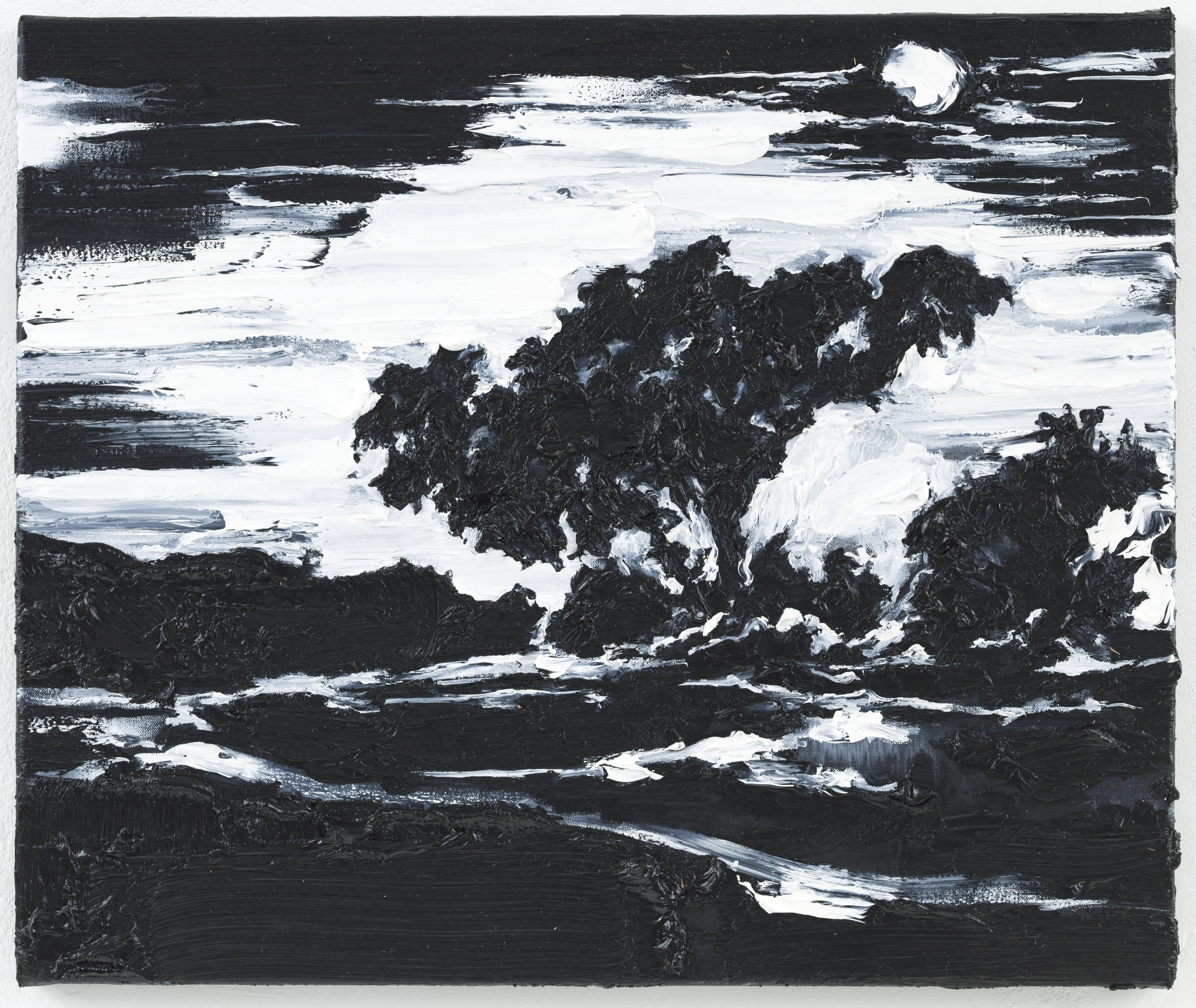 """Lua Cheia"" 50 x 60 cm. oil on linen 2012"