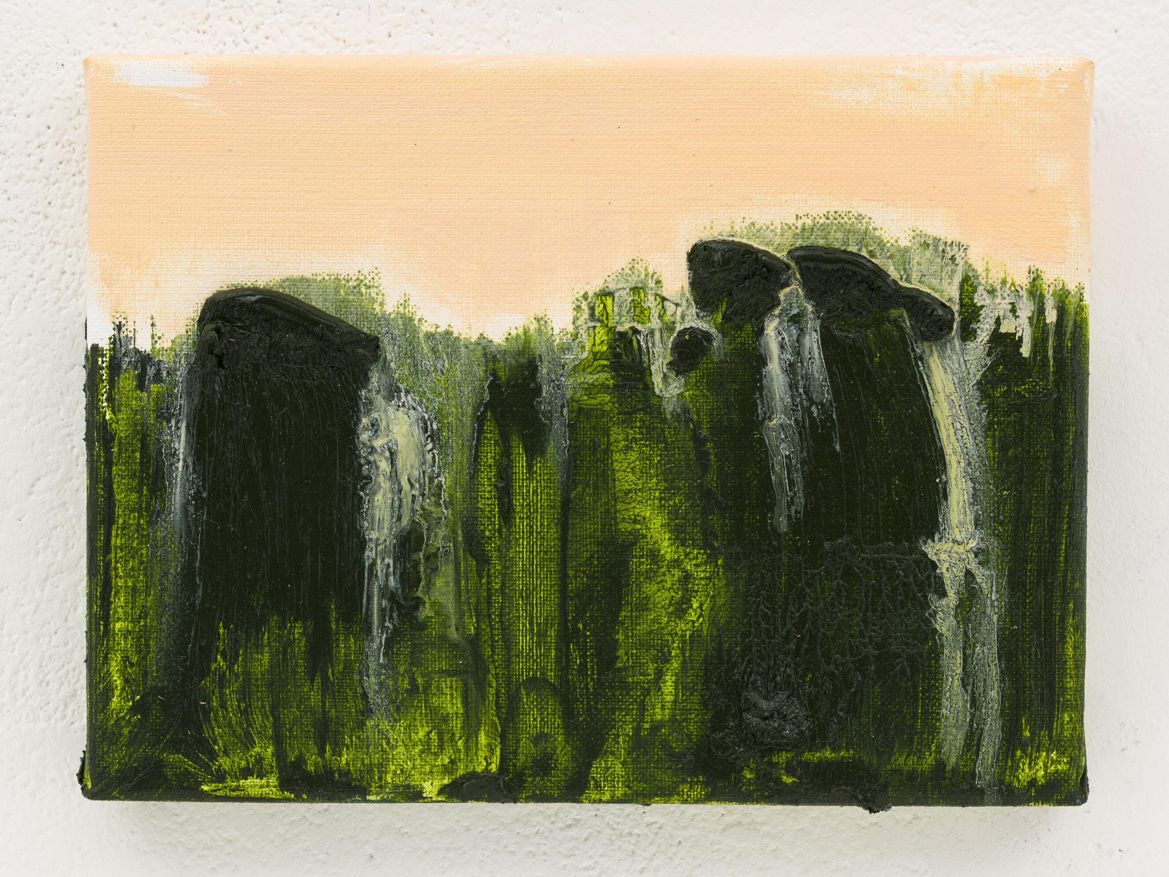 """""""Notas da Luz VIII"""" 18 x 24 cm. oil on linen 2014"""