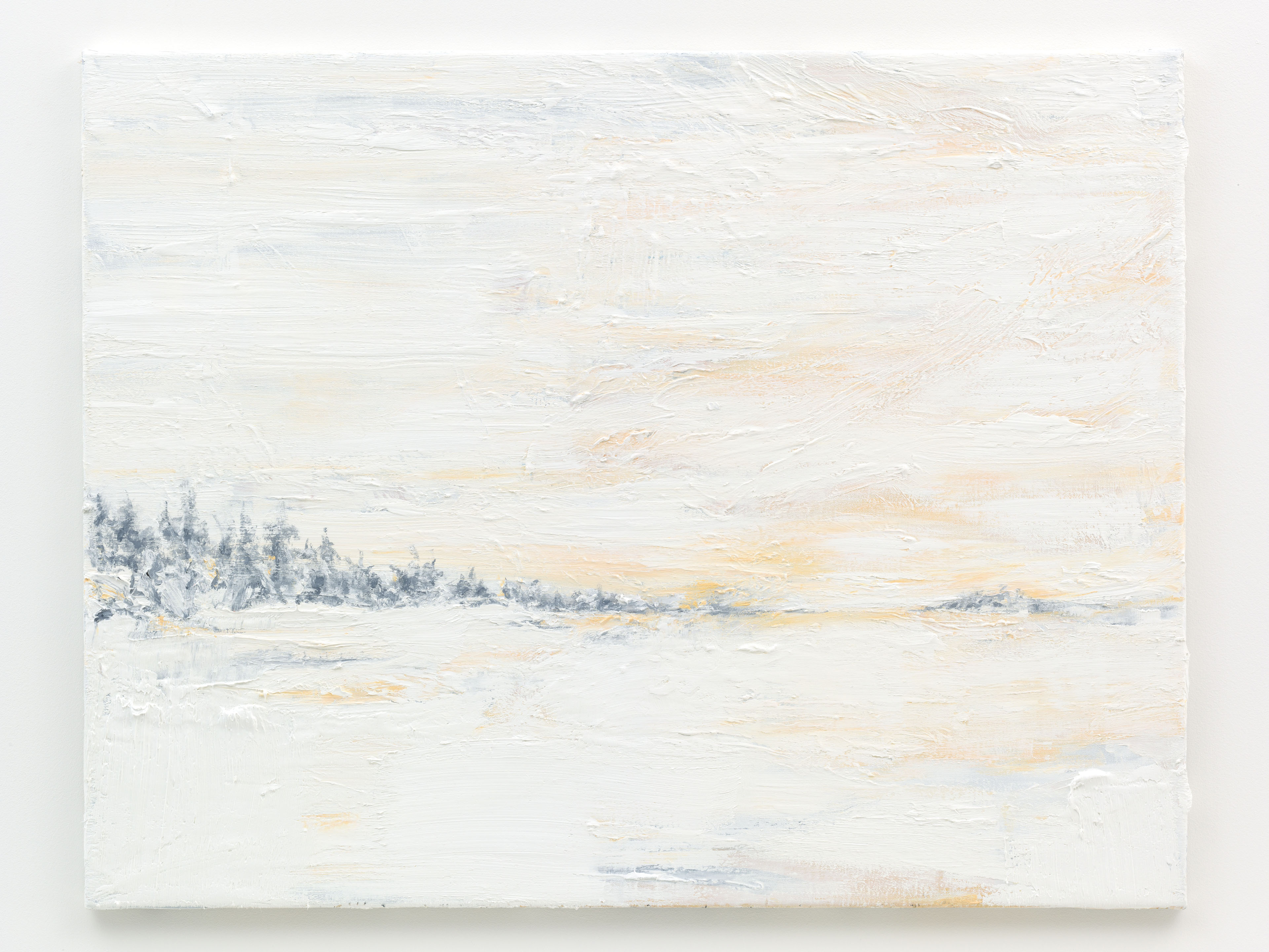 """Neve III"" 70 x 90 cm. oil on linen 2015"