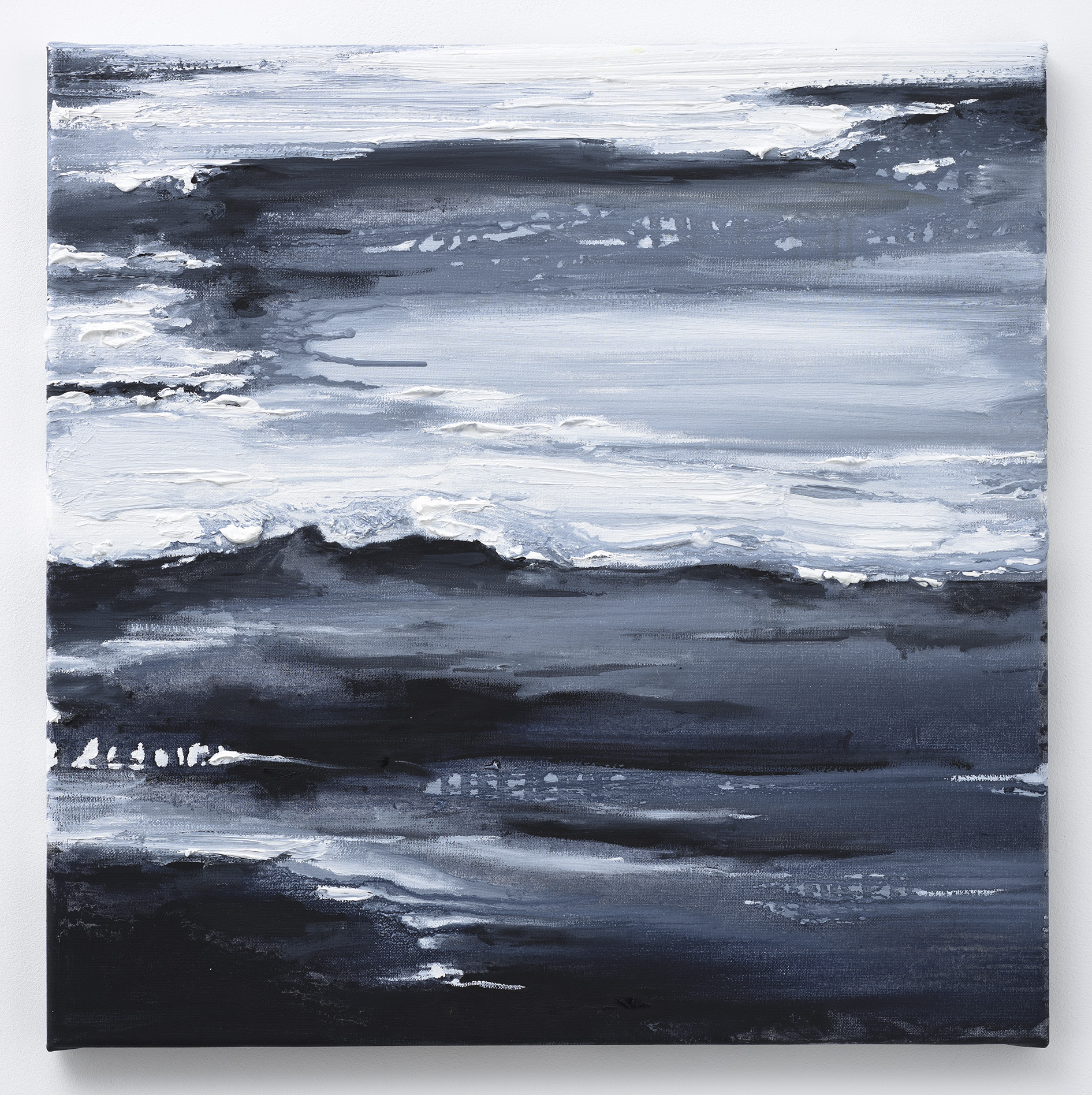 """Paisagen do Infinito"" 50 x 50 cm. oil on linen 2015"