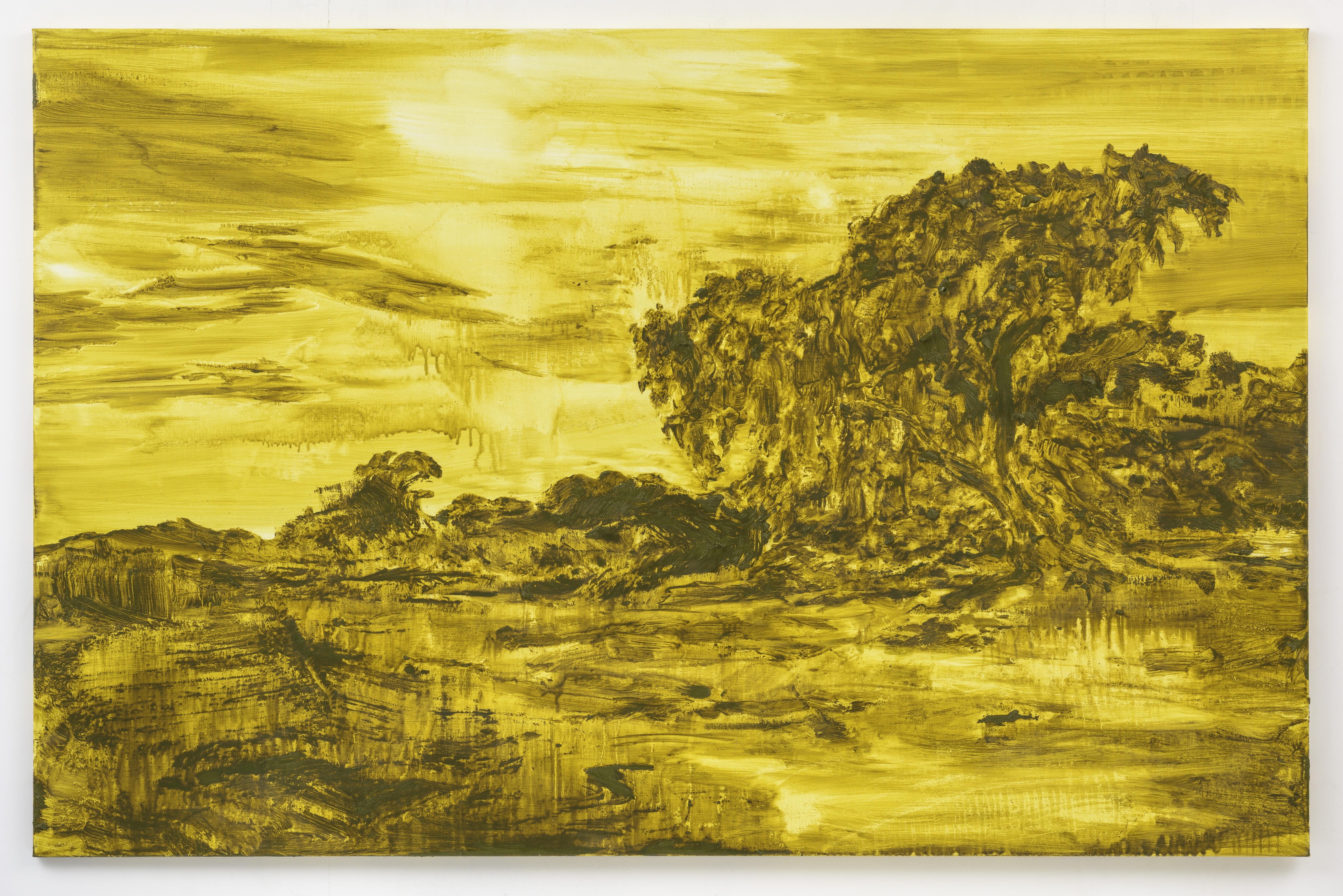 """""""Na Aurora"""" 130 x 200 cm. oil on linen 2015"""