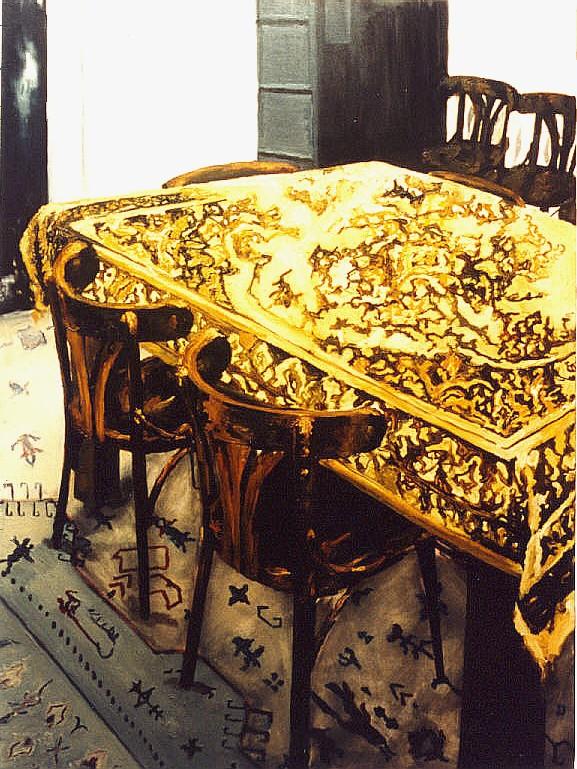 """Lambertus"" 120 x 80 cm.oil on linen 2002"