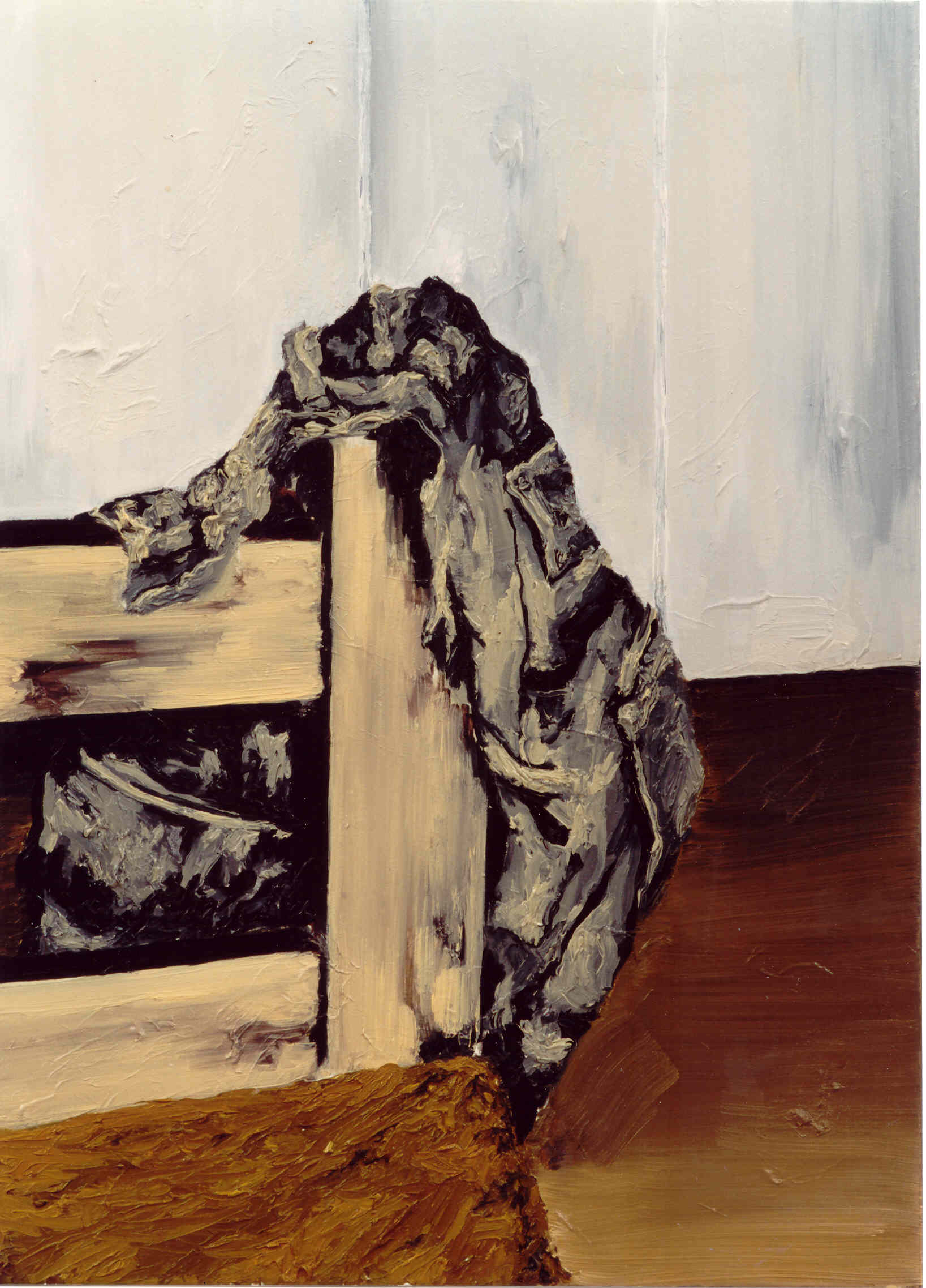 """""""Z.t."""" 60 x 40 cm. oil on linen 2004"""