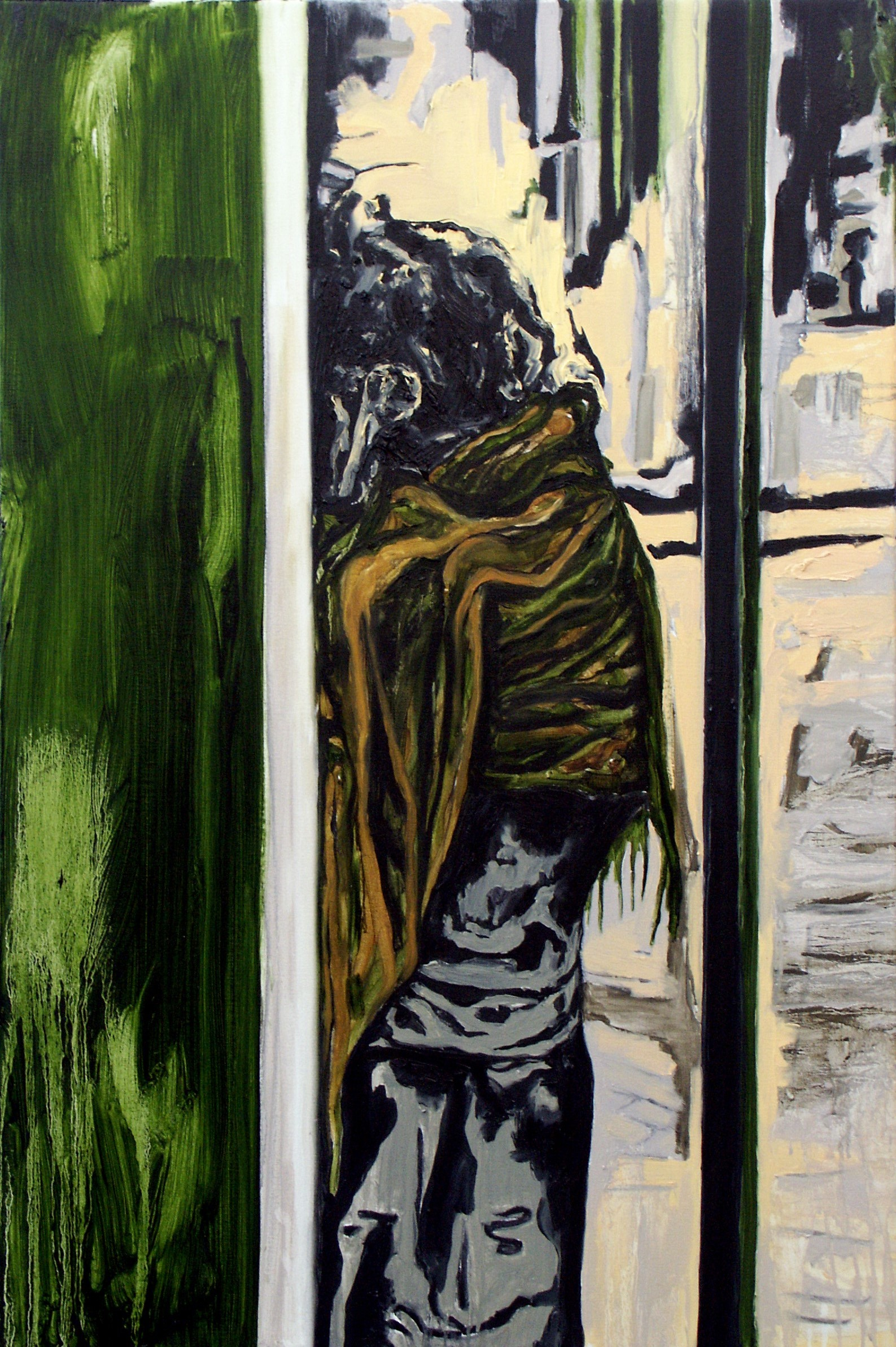 """Anonymous"" 120 x 80 cm. oil on linen 2005"