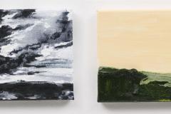 """""""Portuguese Suite ; into another landscape"""" a 18 x 24 cm. oil on linen 2014"""
