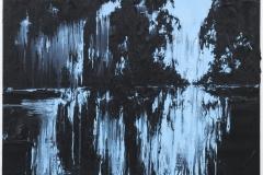 """Lago Azul"" 100 x 130 cm. oil on linen 2012"