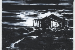 """Casa Miradour"" 50 x 60 cm. oil on linen 2012"