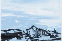 """""""Casa Miradour III"""" 40 x 30 cm. oil on linen 2013"""