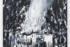 """Cascate"" 200 x 130 cm. oil on linen 2015"