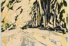 """""""Wander II"""" 70 x 50 cm. oil on linen 2008"""