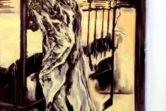 """""""Lumen"""" 120 x 80 cm.oil on linen 2002"""