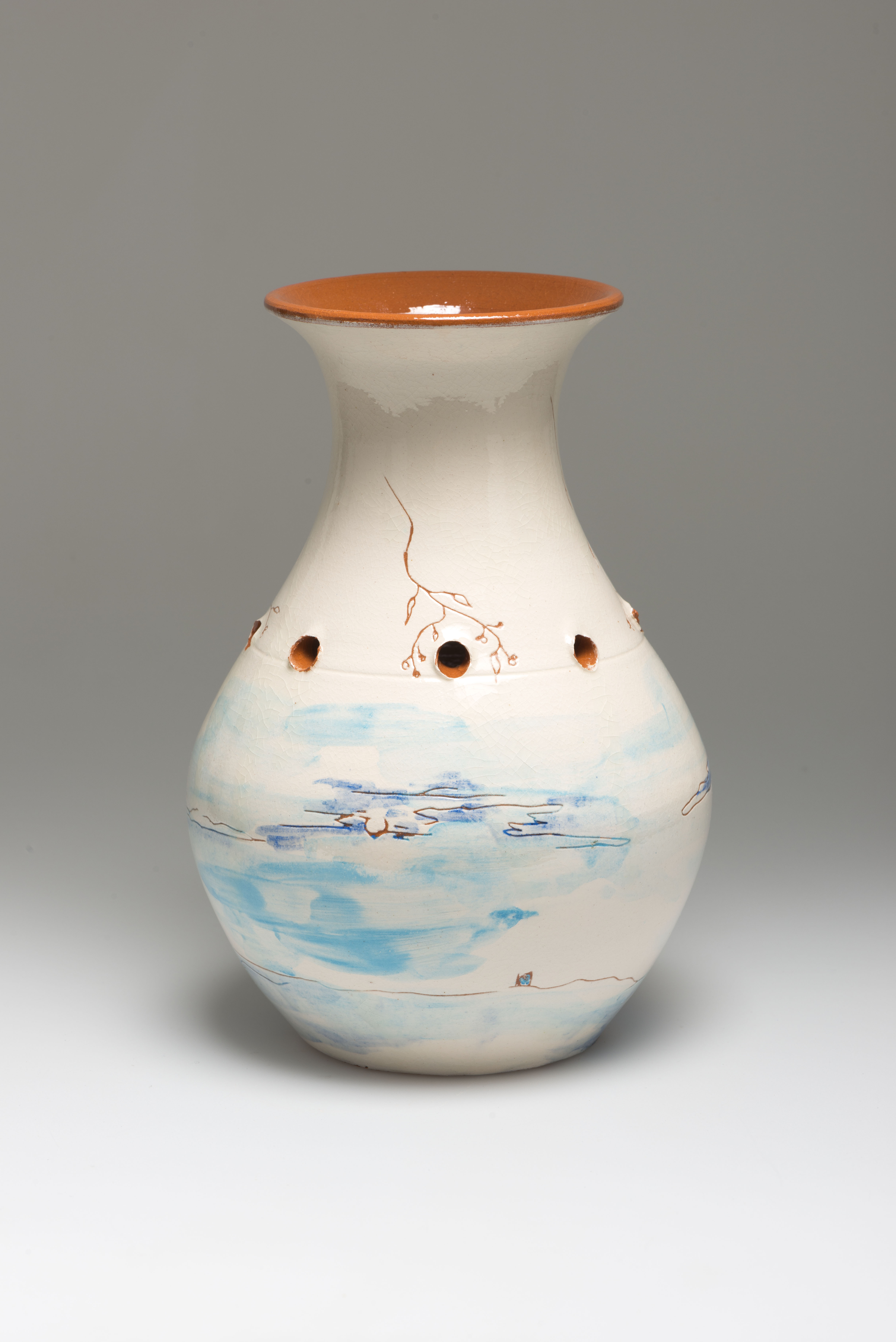 Flower Vase, ceramic, NL 2012