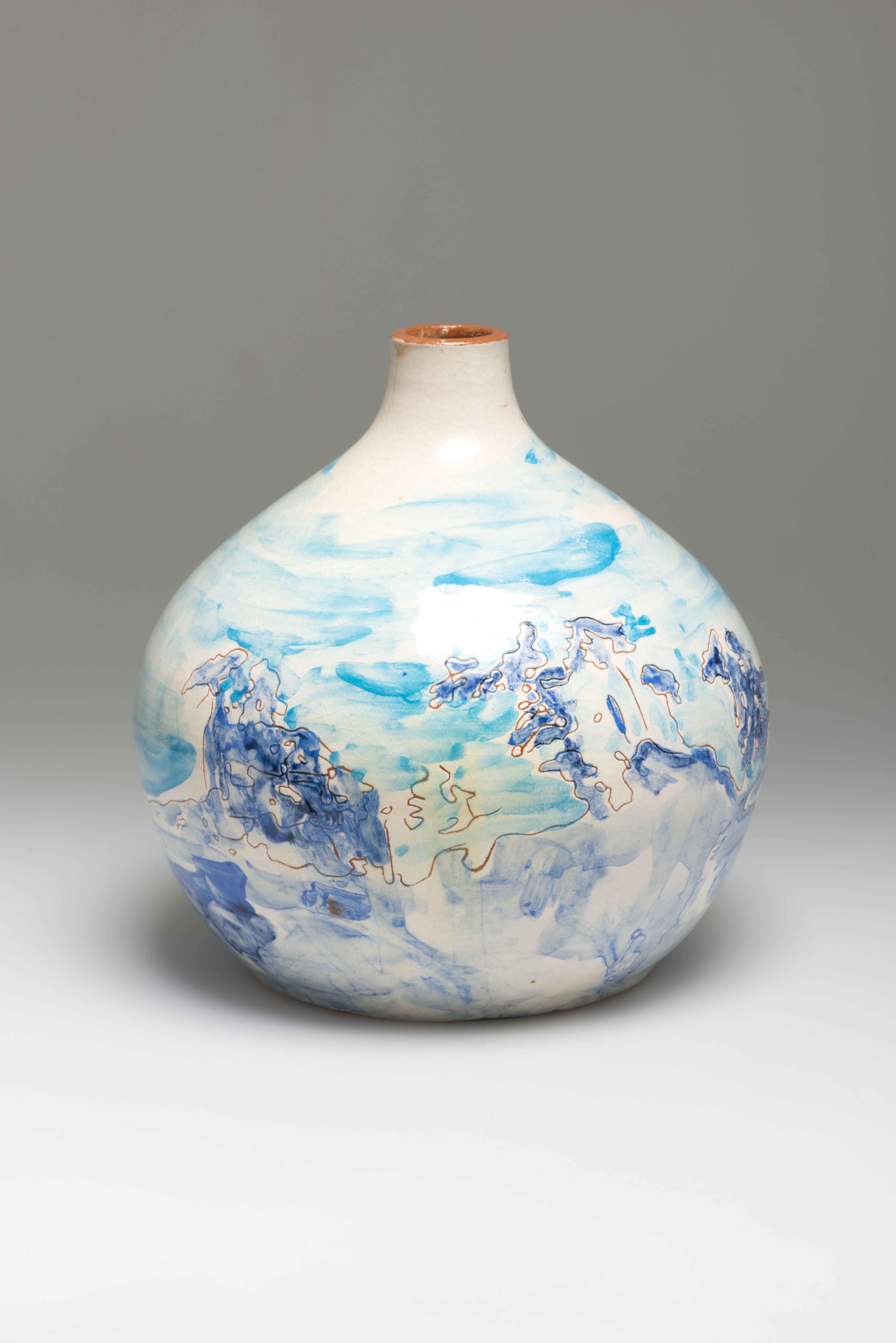 Flower Vase, ceramic, NL 2013