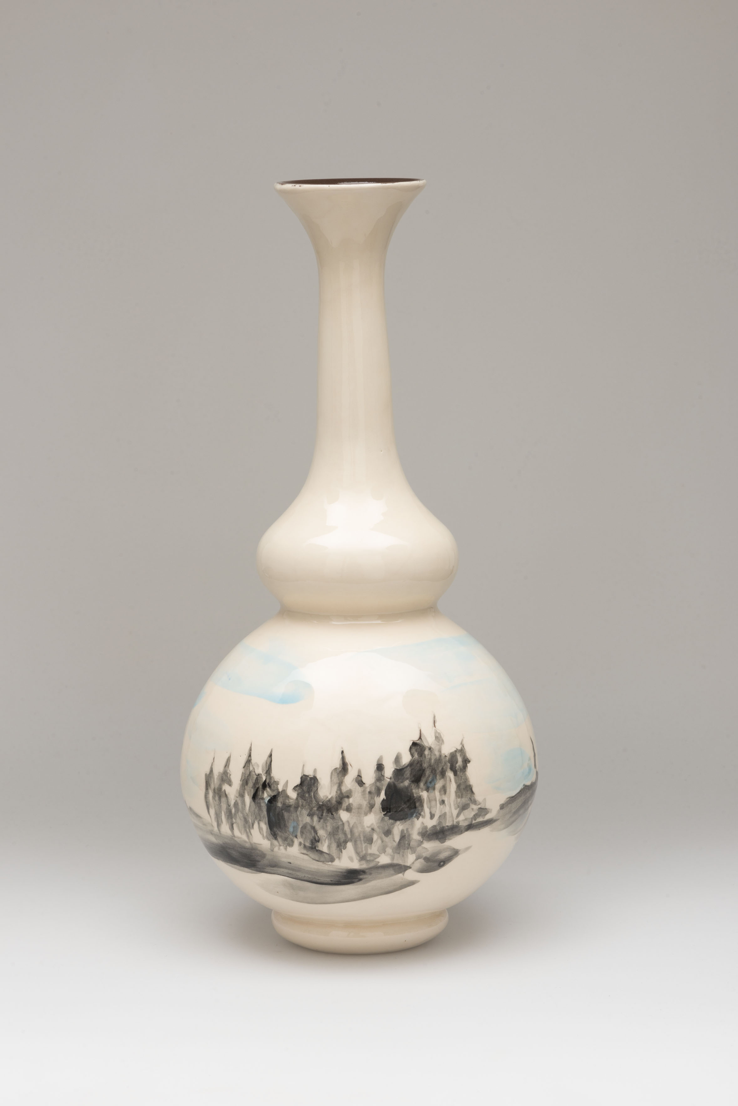 Flower Vase, ceramic, NL 2014