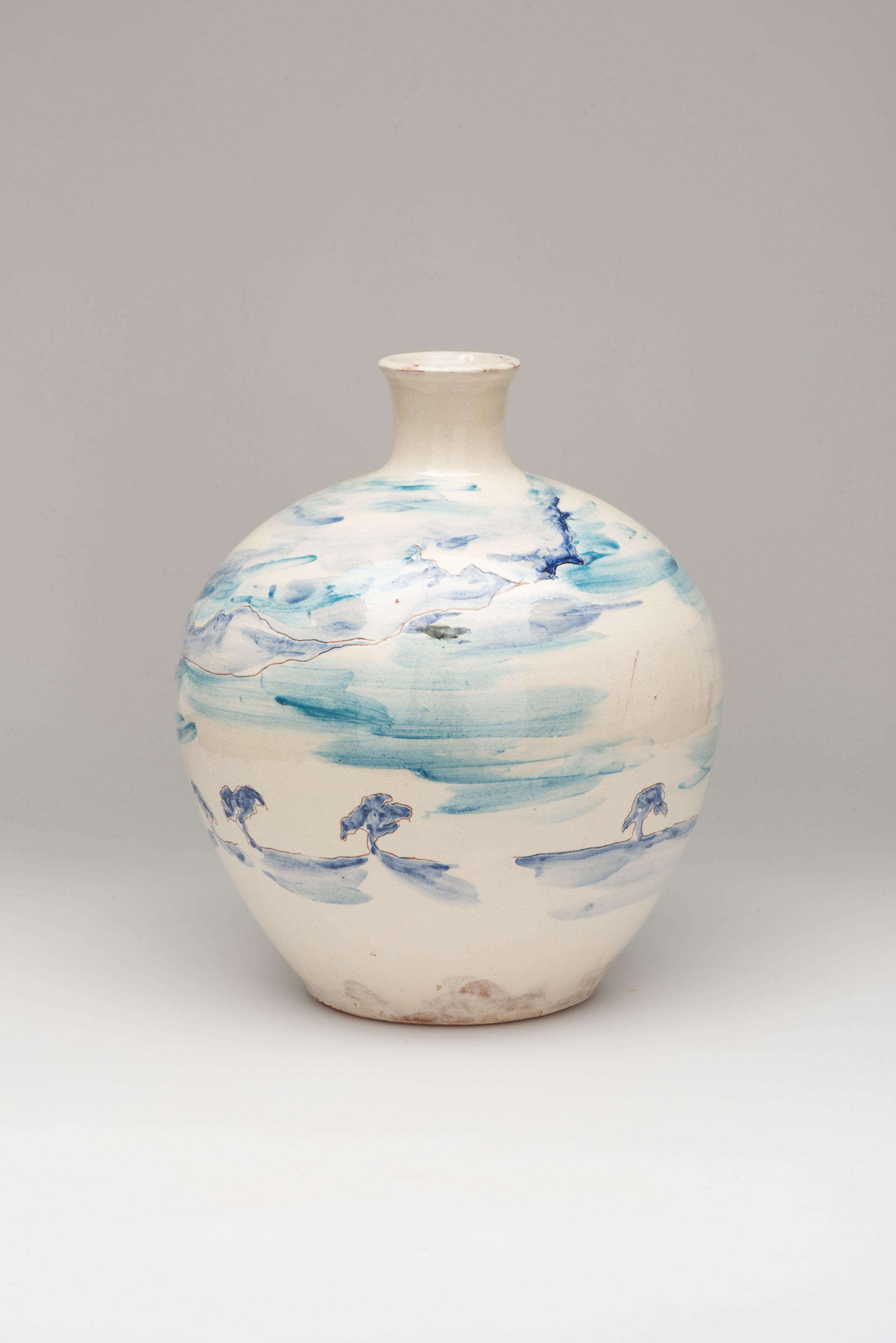 Flower Vase, ceramic, NL 2014