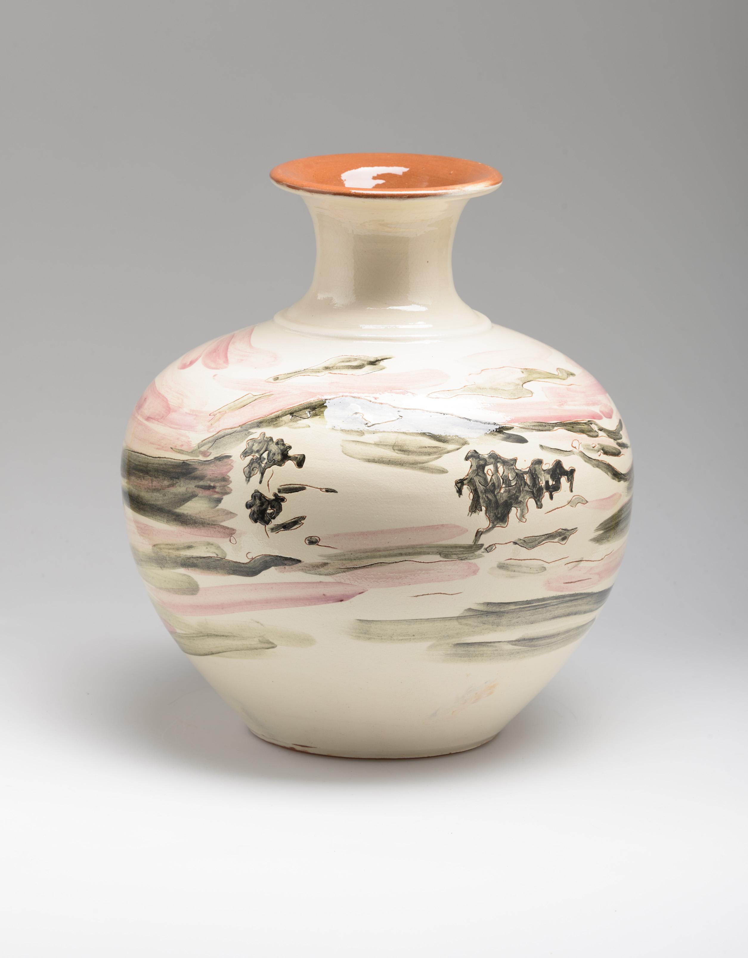 Ceramic Flower Vase Portugal 29 cm. high Portugal 2015