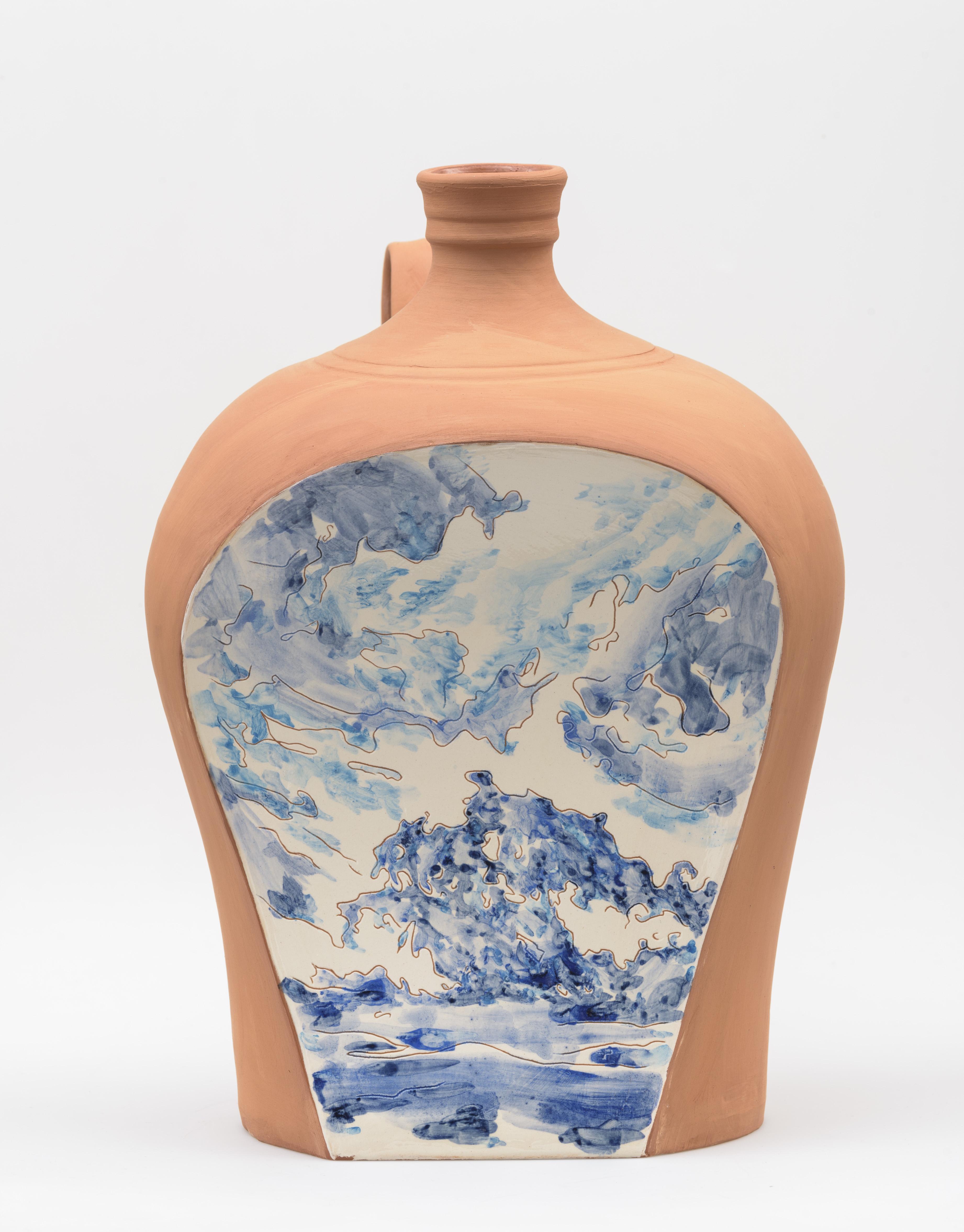 "Standing ""Barril"", ceramic, 40 cm. high, Portugal 2017"