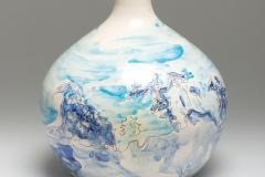 Ceramic Flower Vase Portugal 2013