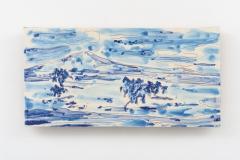 """""""O meu Alentejo I"""" 14,7 x 29 cm. painted ceramic tile 2015"""