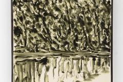"""Monserrate"" 28,7 x 28,7 cm. painted ceramic tile 2015"