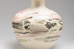 Ceramic Flower Vase Portugal 2015 hight : 29 cm.