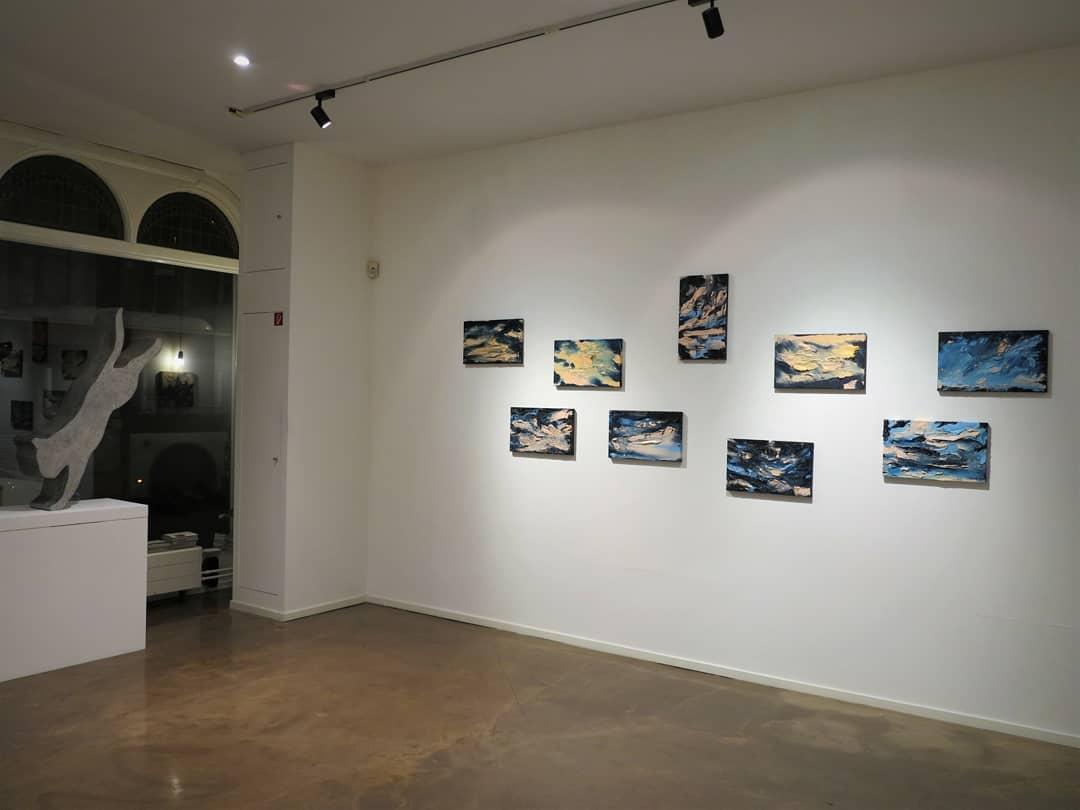 """No Moon in Berlin"", solo exhibition at Livingstone Gallery, The Hague (2020 - 2021)"