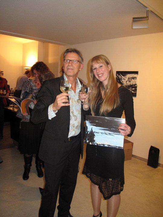 "Presentation of the publication ""Shadows Shift"", Jan van Hoof Galerie, 's-Hertogenbosch (2010)"