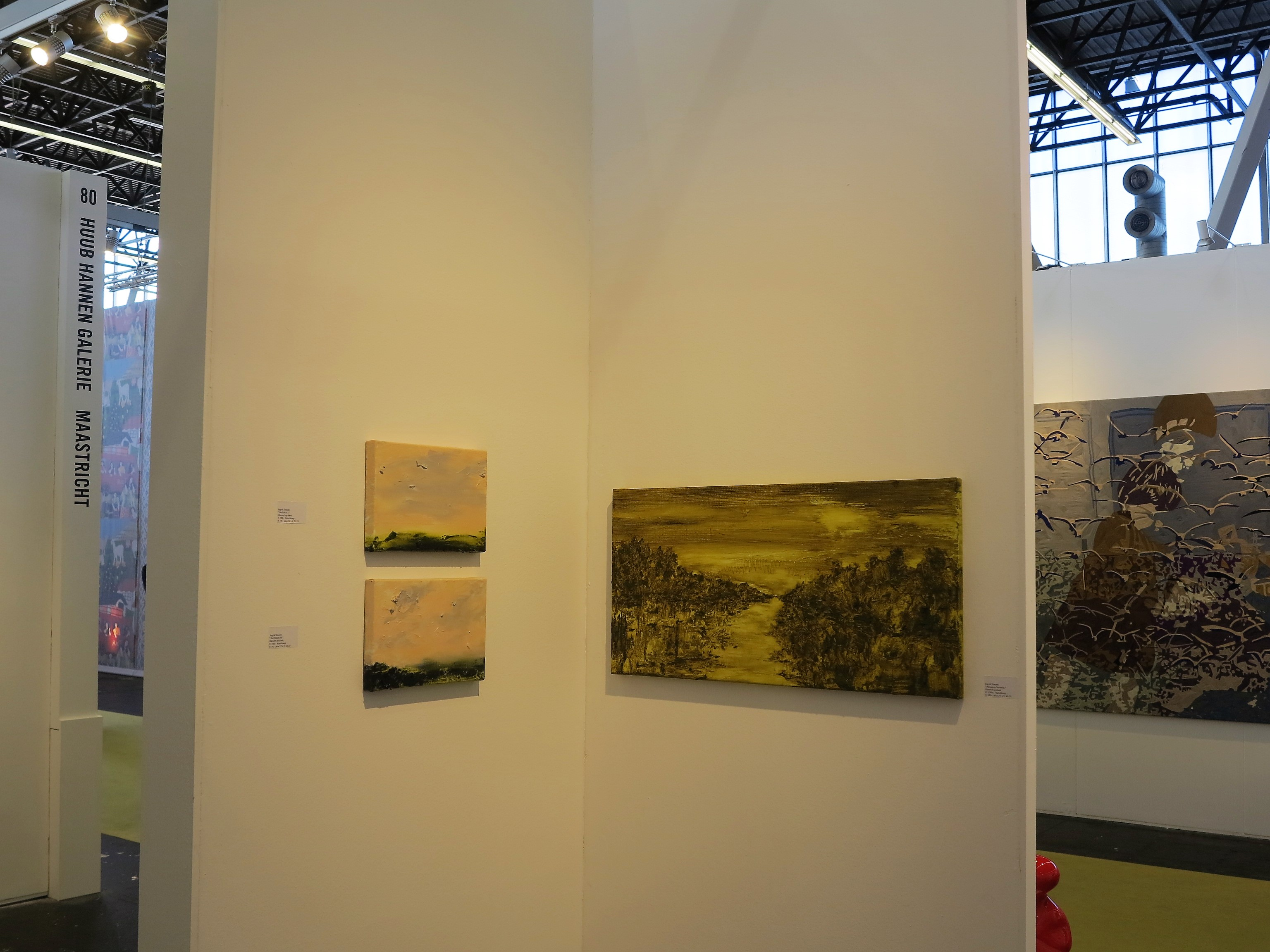 KunstRAI, Huub Hannen Galerie, RAI Amsterdam (2018)
