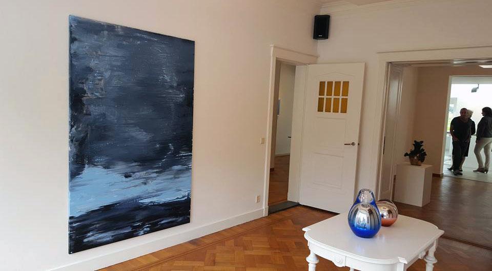 """""""Landschap van de ziel"""", Jan van Hoof Galerie, 's-Hertogenbosch (2015)"""