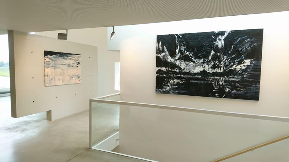 """""""Zonnewende"""", solo exhibition at Jan van Hoof Galerie, 's-Hertogenbosch (2017)"""