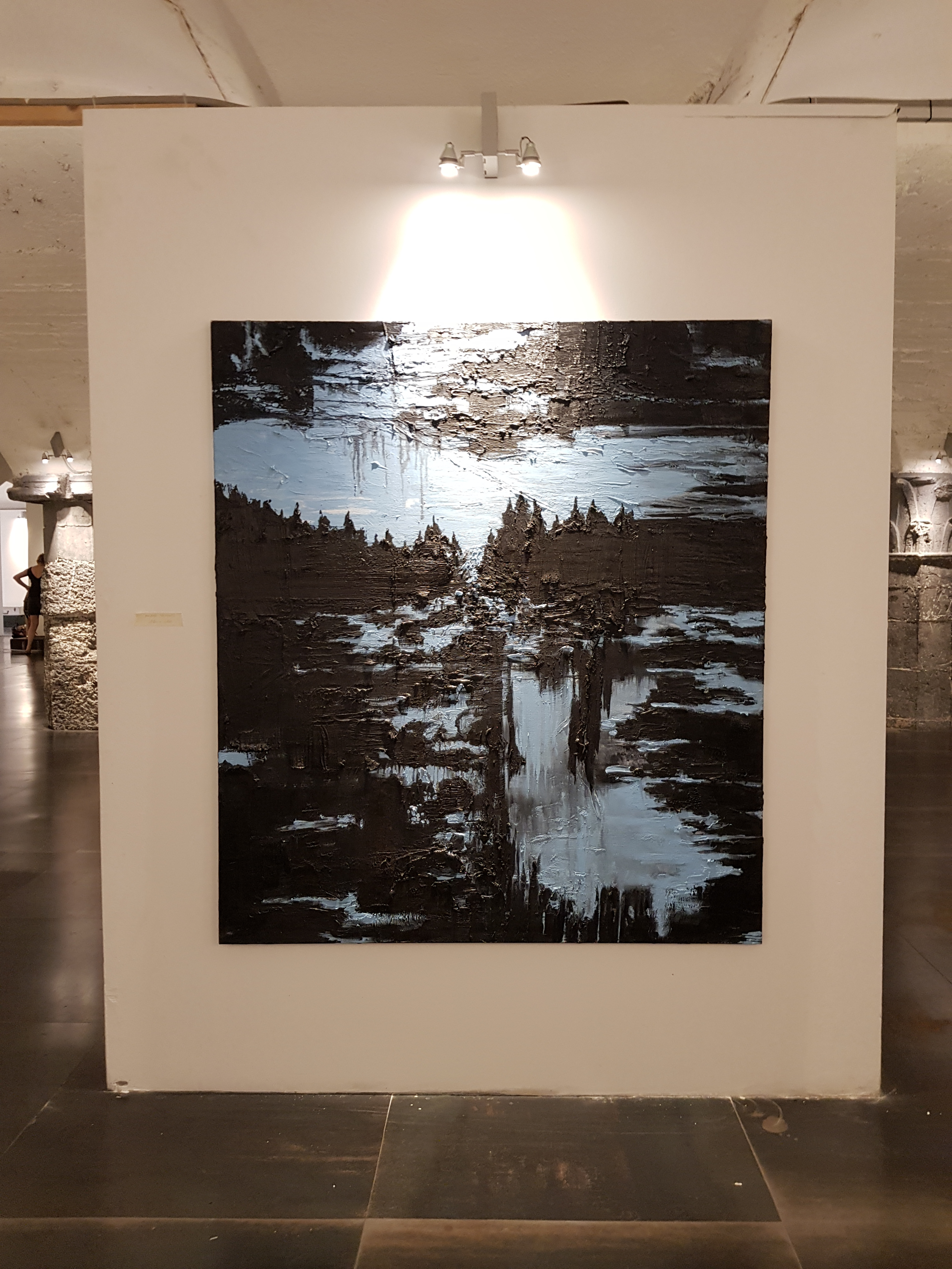 """Water & Light"", Biennale Le Latitudini dell'Arte Palazzo Ducale, International groupshow, Genua, Italy (2019) represented by Livingstone Gallery"