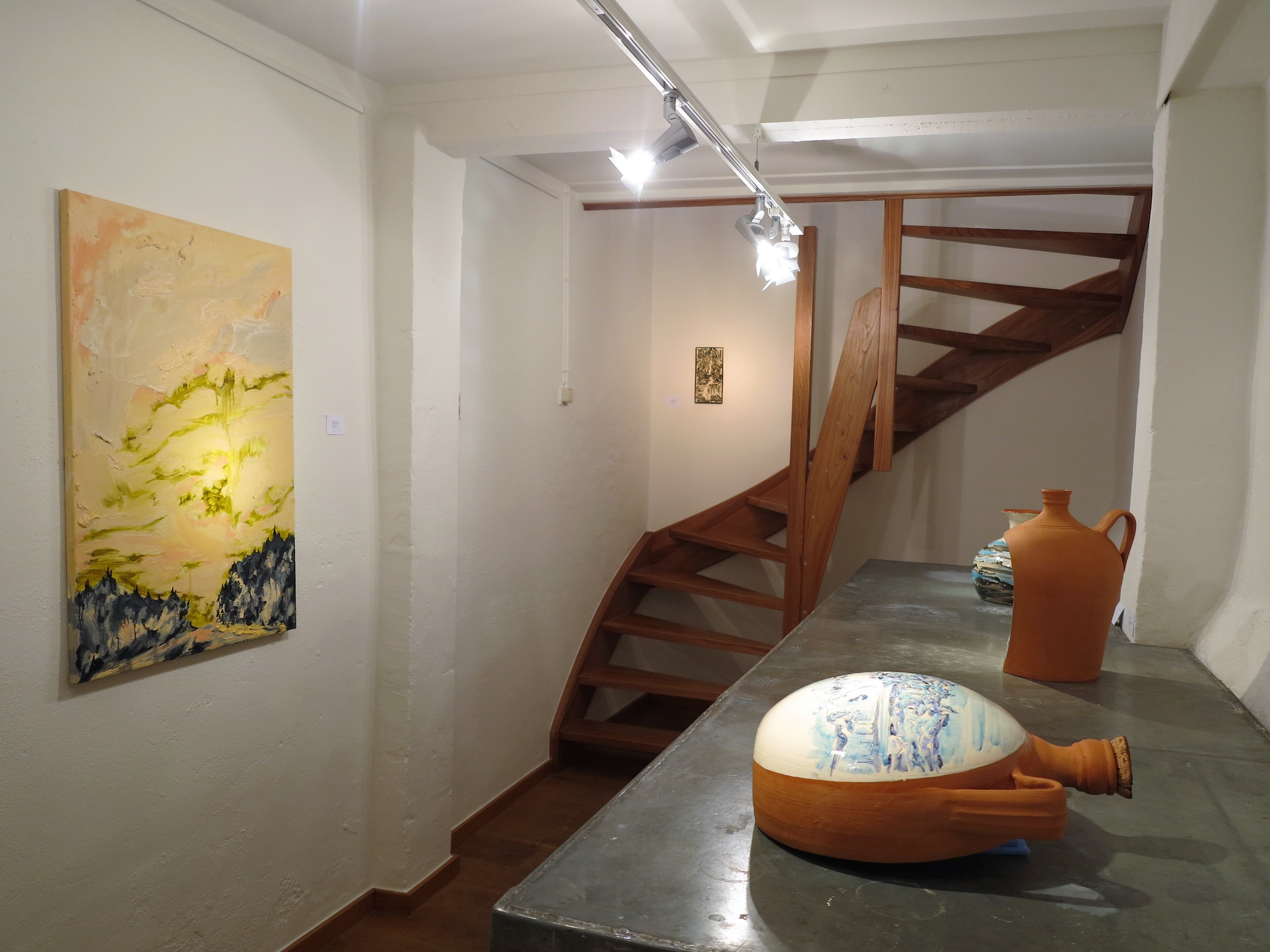 """Terra"", duo exhibition at Huub Hannen Galerie, Maastricht (2018)"