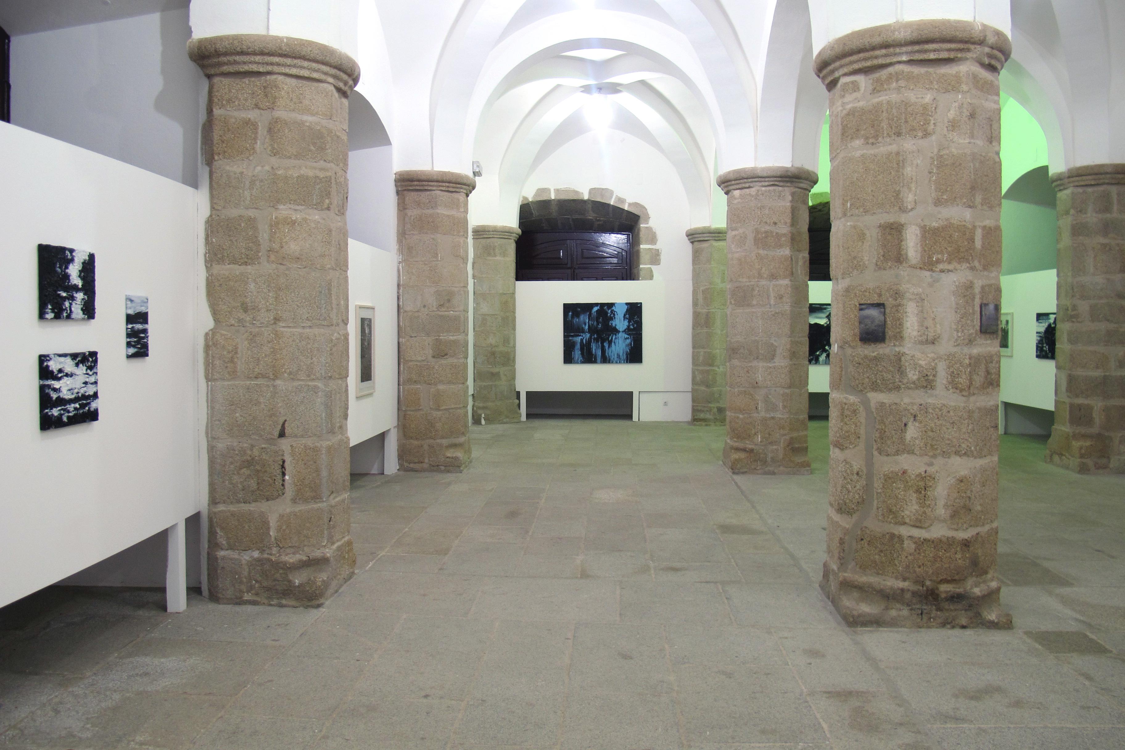 """Solo exhibition """"Só os caminhos eram meus"""", Palacio Dom Manuel, Ėvora, Portugal (2012)"""