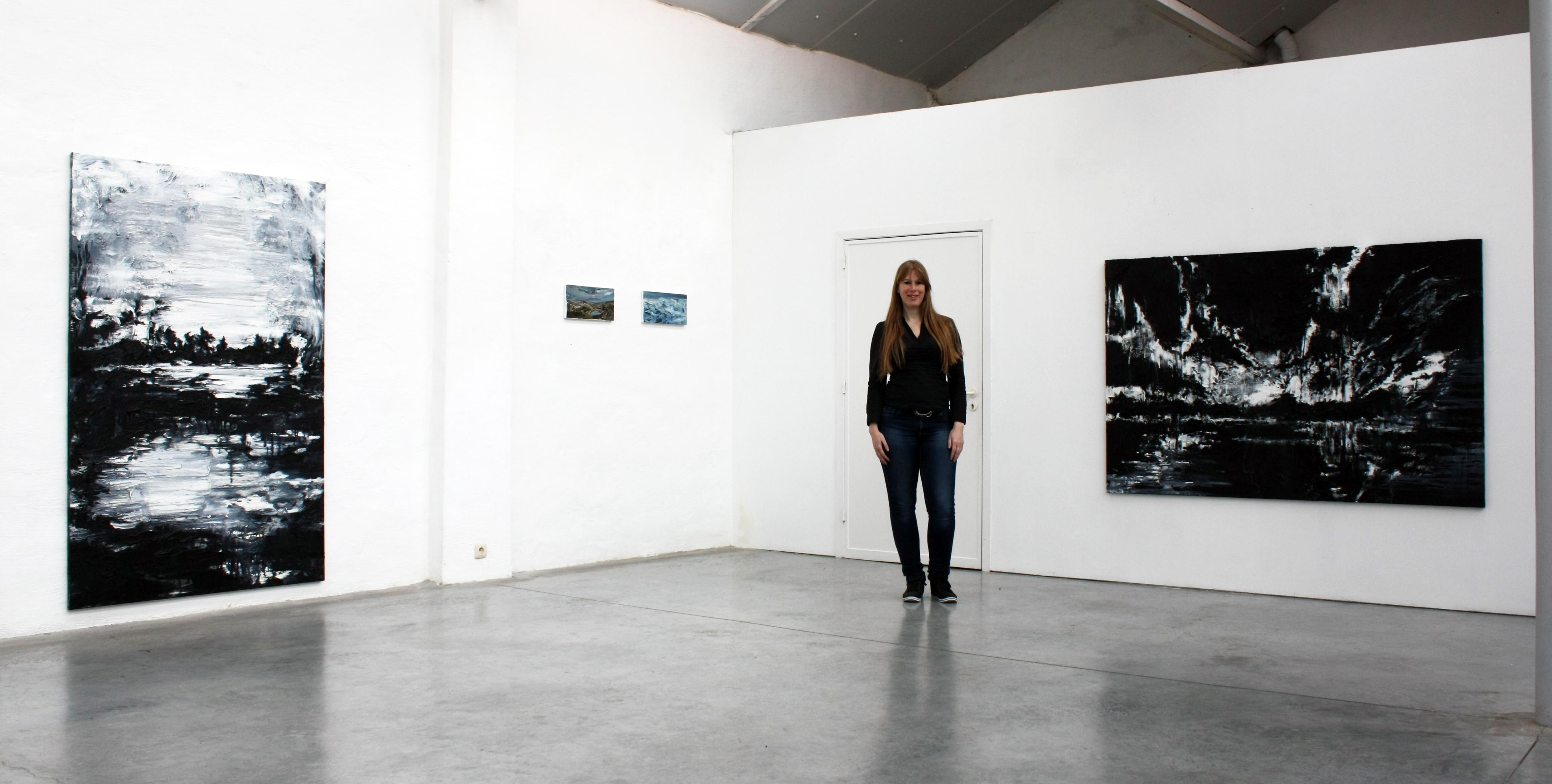 """Parallelle"", duo exhibition at Montanus 5, Diksmuide, Belgie (2017)"