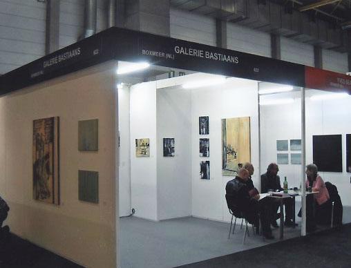 LINEART, Galerie Bastiaans, Flanders Expo, Gent (B, 2005)
