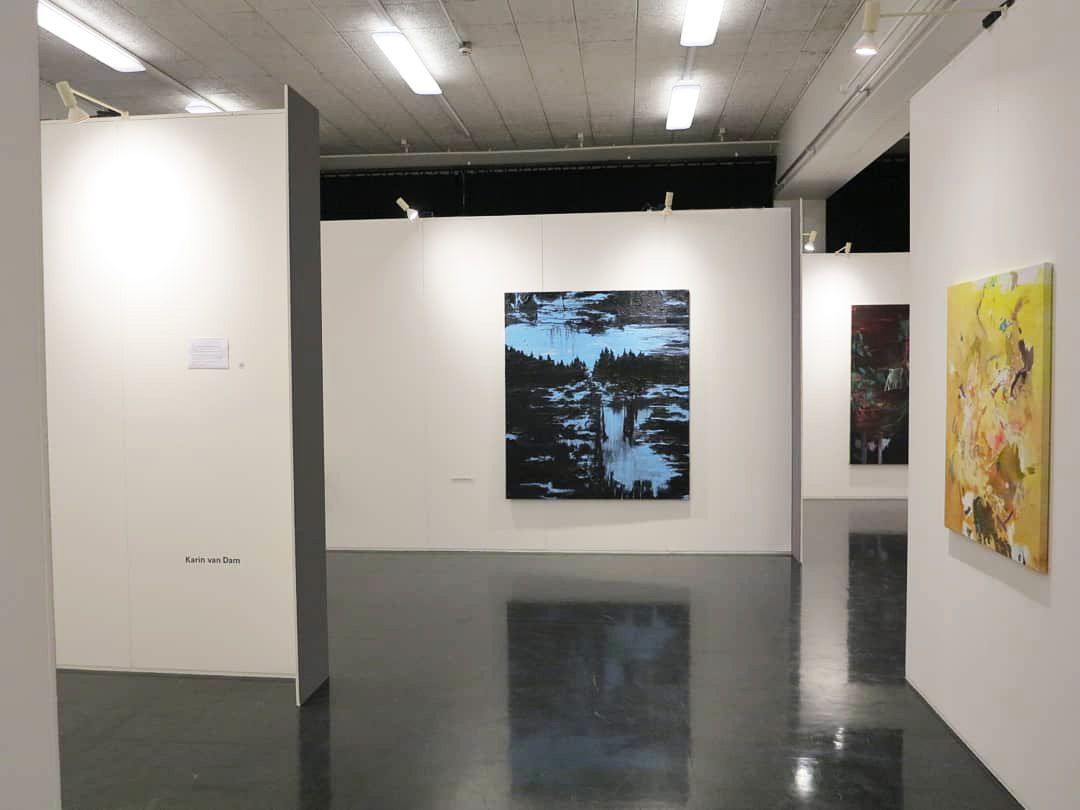 """Women in Art"", curator exhibition, Art the Hague, Livingstone Gallery, Fokker Terminal, The Hague (2019)"