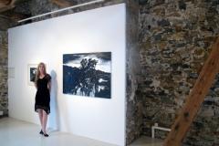 """""""Le Coucher du Nuit"""", solo exhibition, Galerie La Courette, Durfort, France (2011)"""