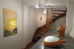 """Terra"", duo exhibition at Huub Hannen Galerie, Maastricht (2018)"