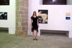 """Solo exhibition """"Só os caminhos eram meus"""", Palacio Dom Manuel, Ėvora (Portugal, 2012)"""