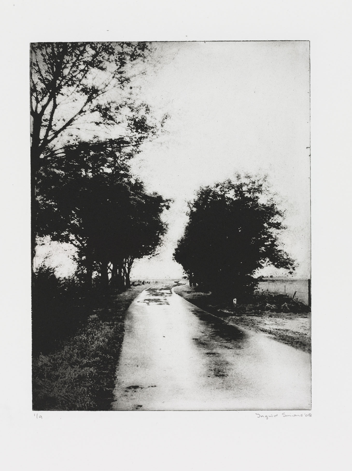 """Wander II"" 56 x 38 cm. toyobo print (2008)"