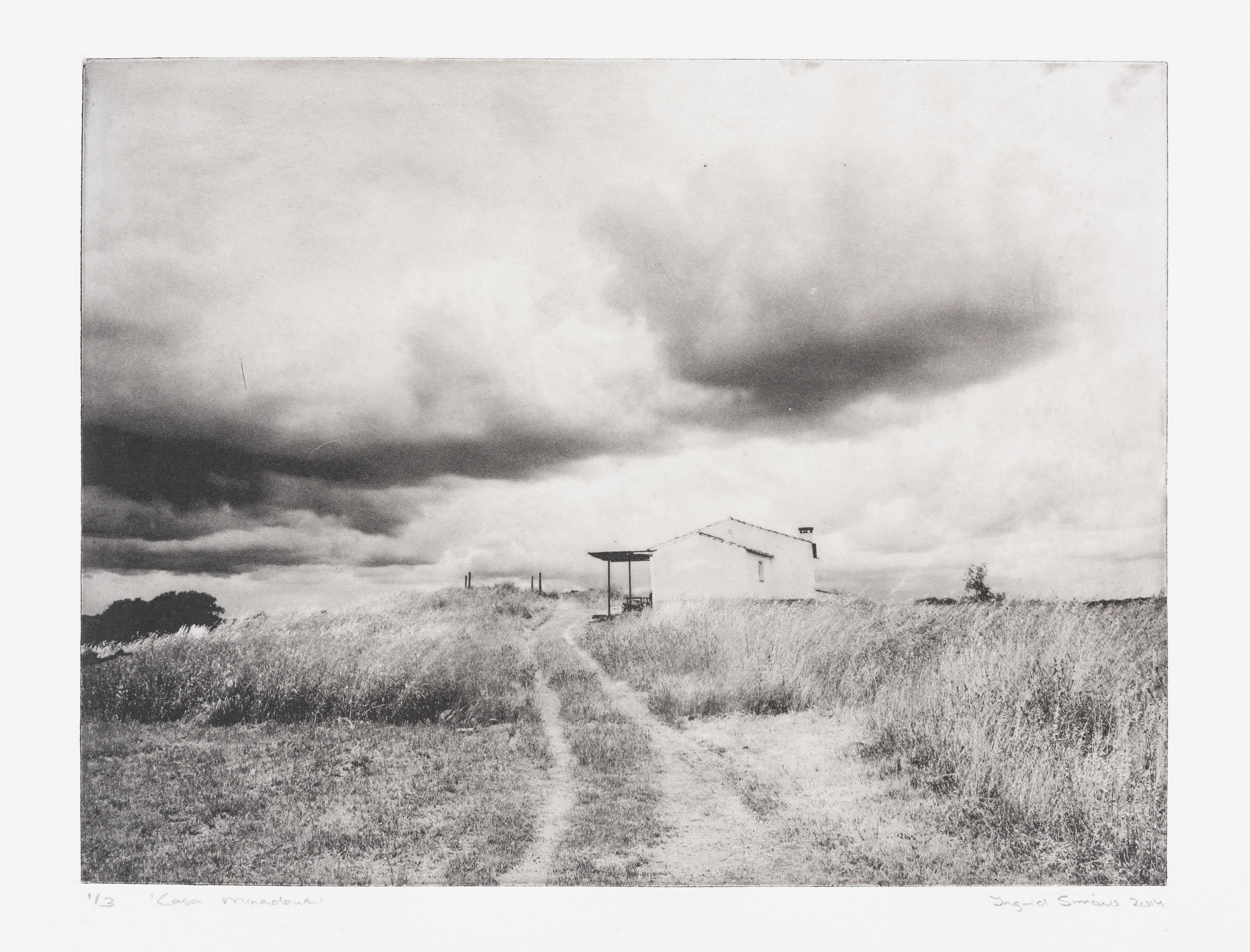 """""""Casa Miradour"""" 33 x 51 cm. toyobo print (2014)"""
