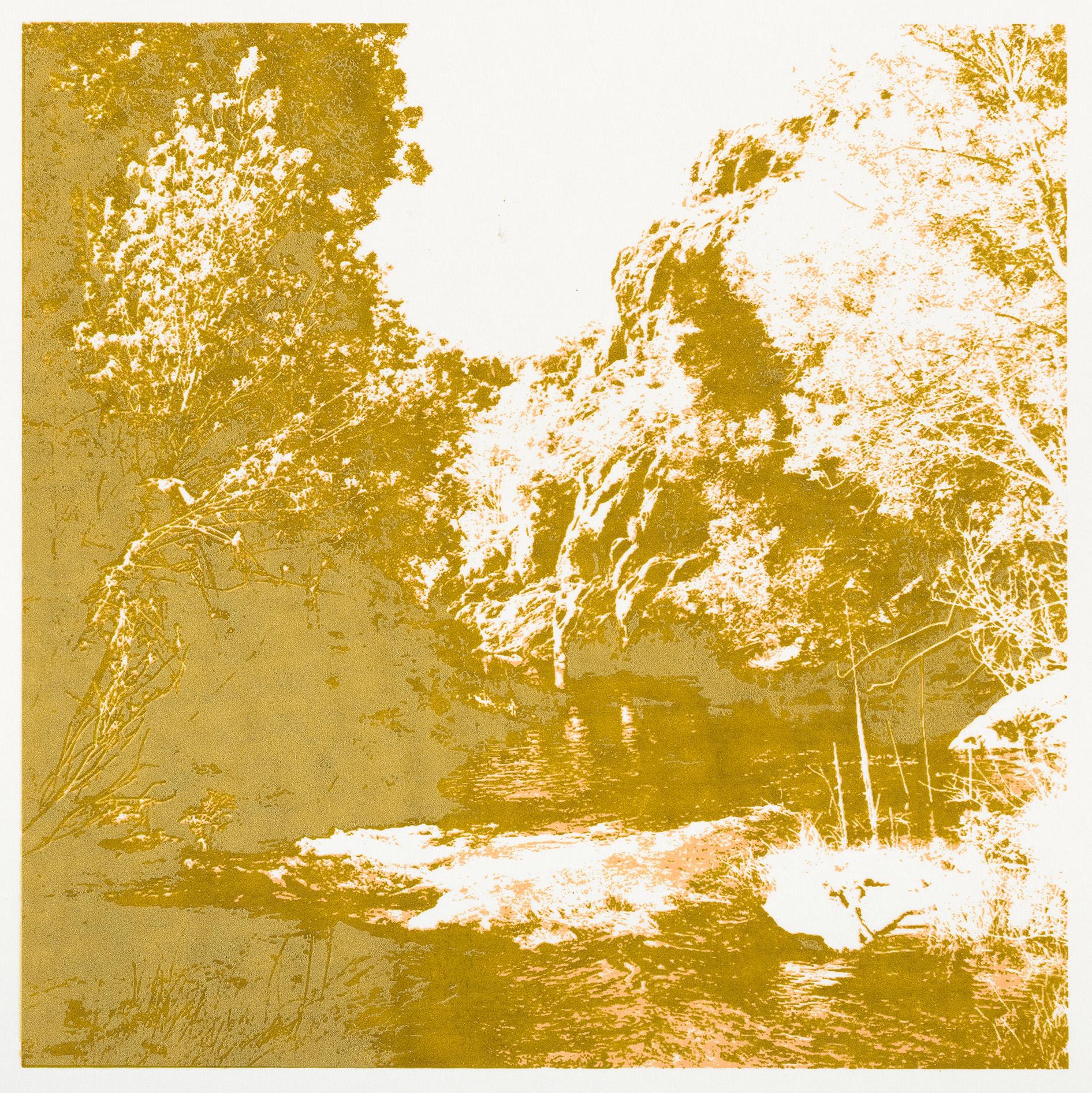 """""""Herfst"""" 19,5 x 19,5 cm. silkscreenprint (2016)"""