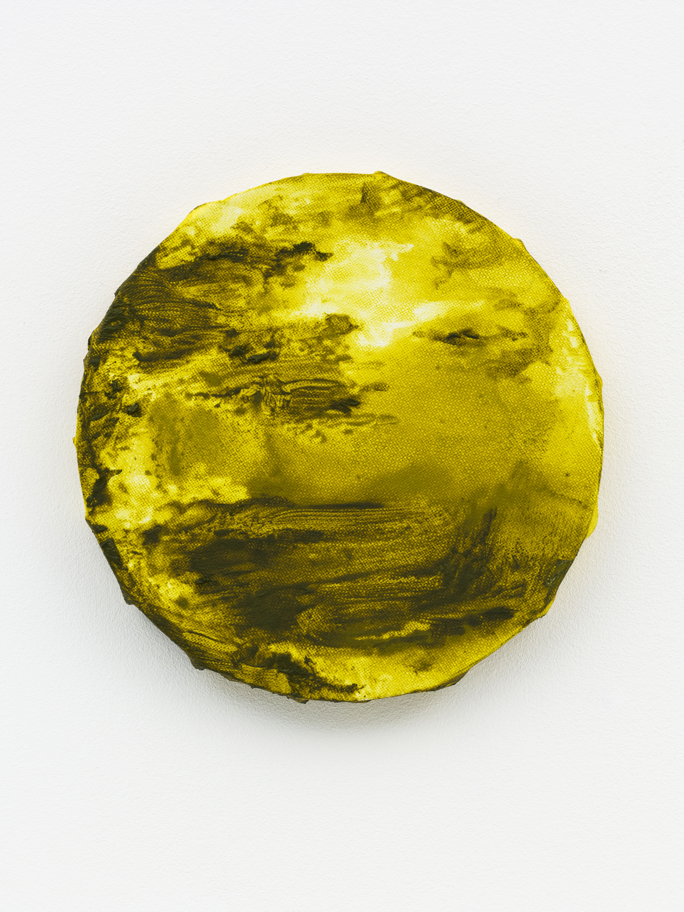"""""""Waddenmaan II"""" 20 x 20 cm. oil on linen 2015"""