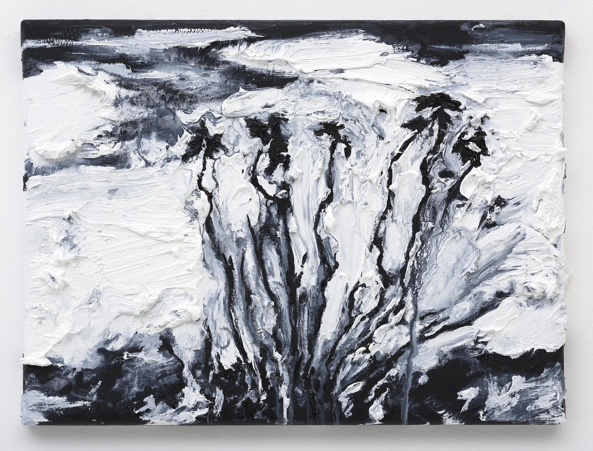 """Flor do Cardo"", 40 x 30 cm. oil on linen 2016"